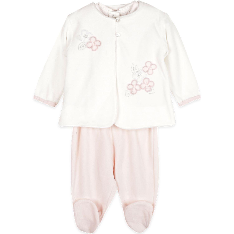 PILLIN Conjunto Plush Bebe Niña Blanco Juegos de ajuar para bebé