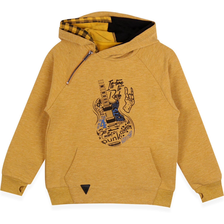 PILLIN polerón niño Mostaza Hoodies y Sweaters Fashion