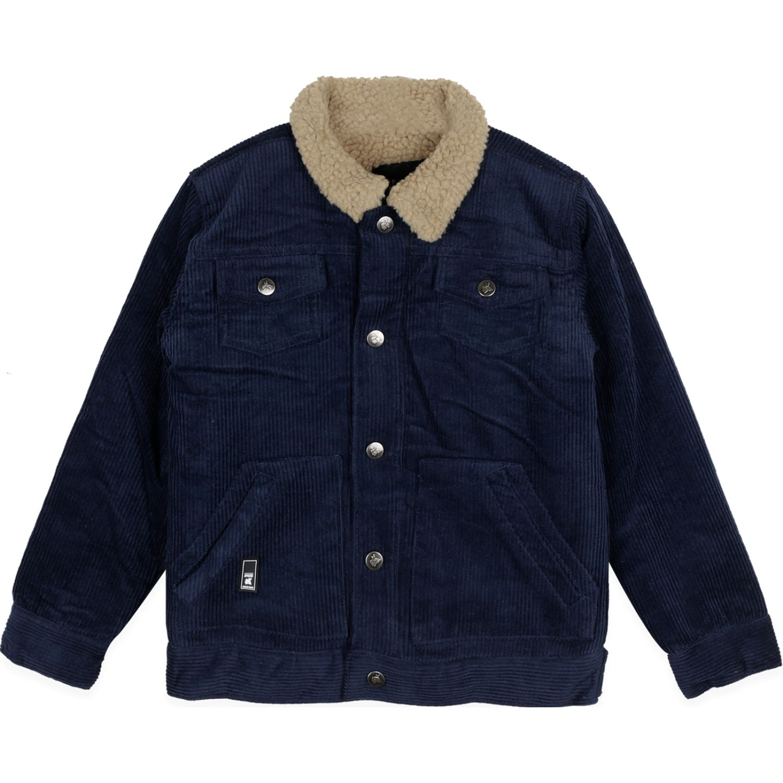PILLIN Chaqueta Niño Azul Abrigos de plumas y alternativos