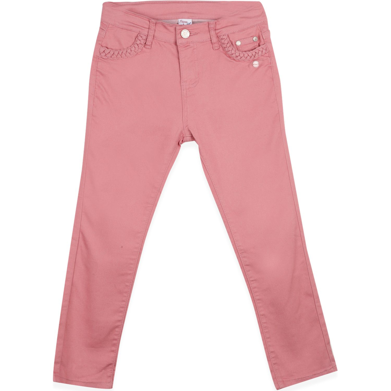 PILLIN Jeans Niña Rosado Pantalones y capris