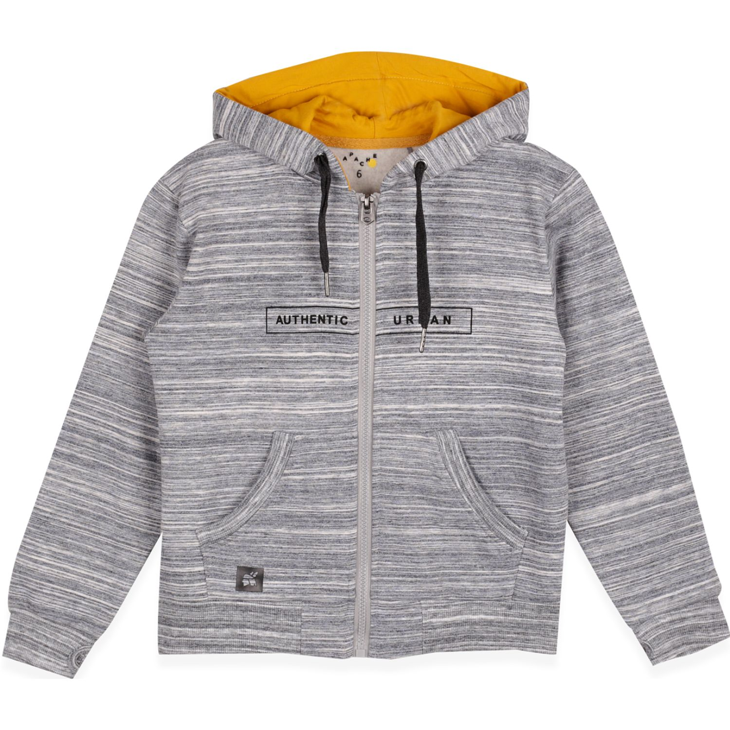 PILLIN Poleron Niño Gris Hoodies y Sweaters Fashion