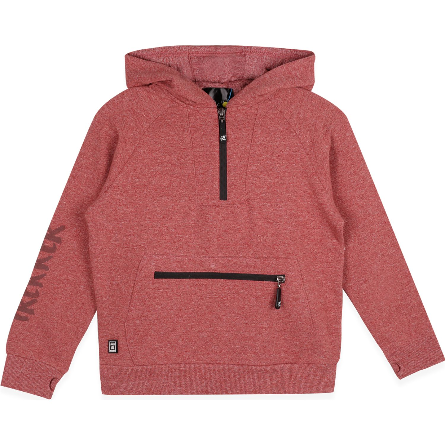 PILLIN Polerón Niño Burdeo Hoodies y Sweaters Fashion