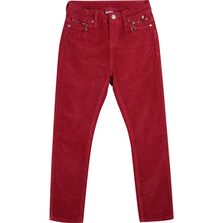 PILLIN Pantalon Niña Burdeo Pantalones y capris