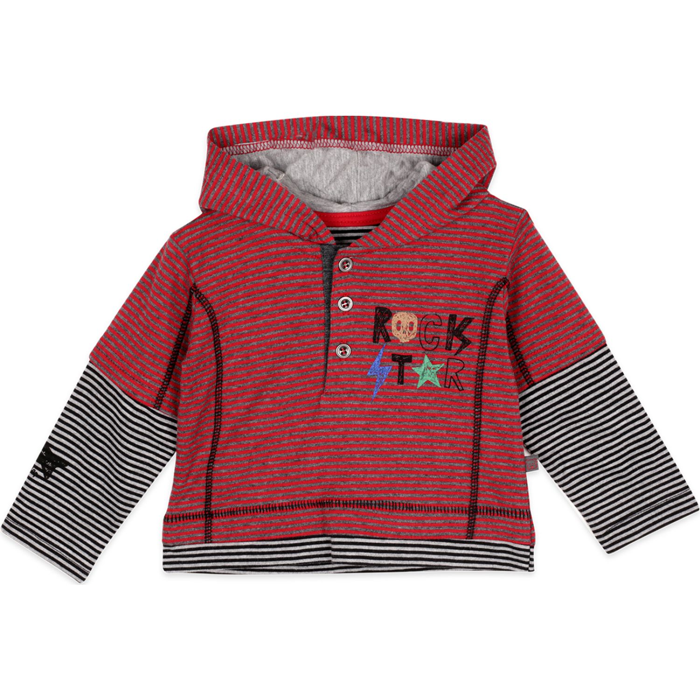 PILLIN Polera M/Larga Bebé Niño Rojo Tees
