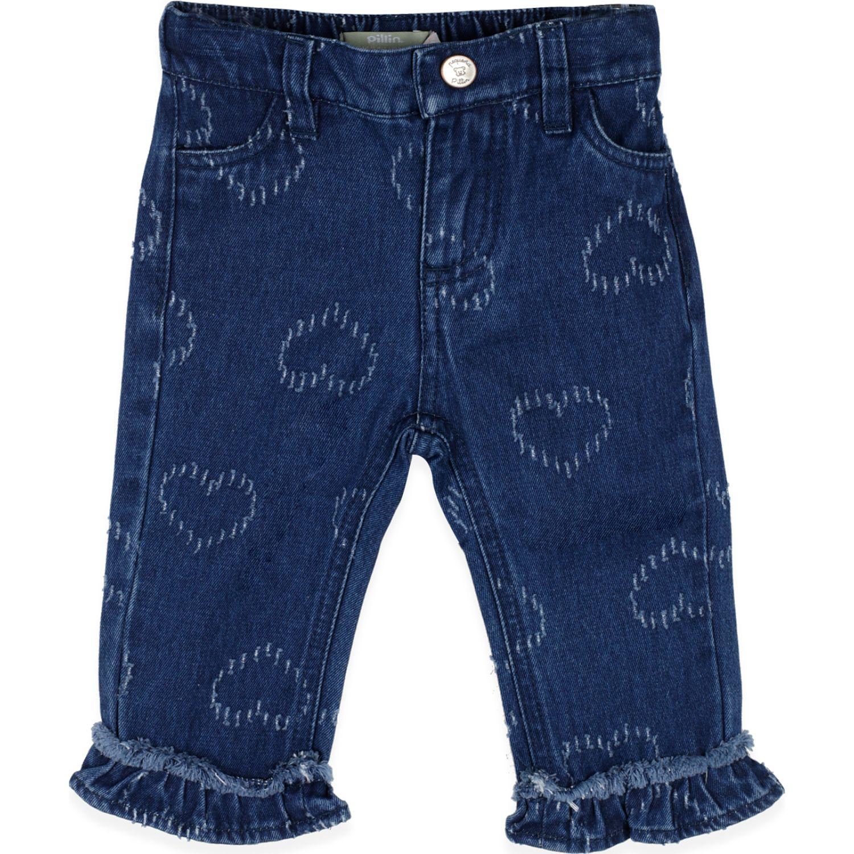 PILLIN Jeans Bebe Niña Azul Pantalones