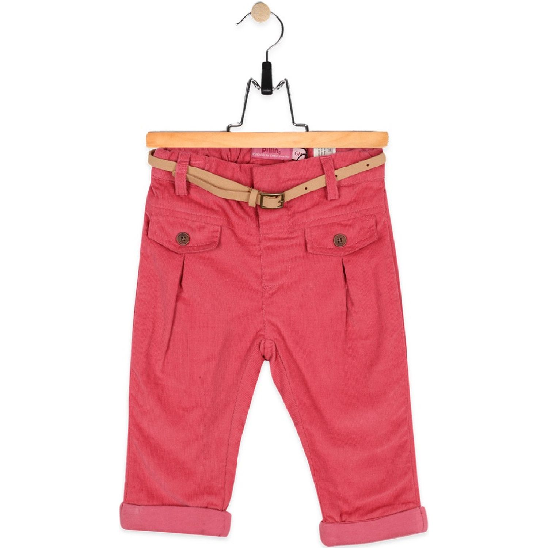 PILLIN Pantalón Bebe Niña Cereza Pantalones
