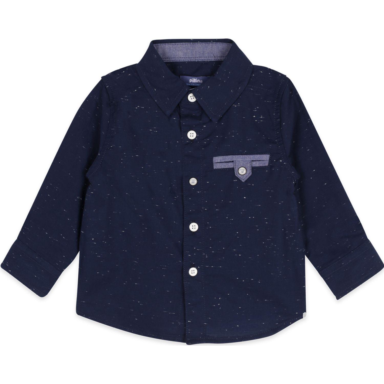 PILLIN Camisa Bebé Niño Navy Sudaderas y ropa deportiva