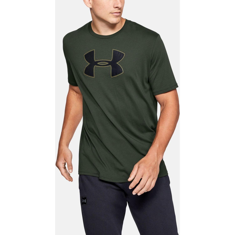 Under Armour Ua Big Logo Ss Verde Camisetas y polos deportivos
