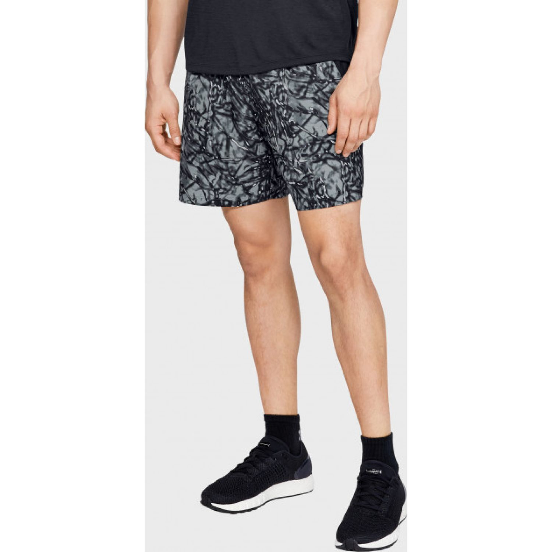 Under Armour ua launch sw 7'' printed short Plomo Shorts Deportivos