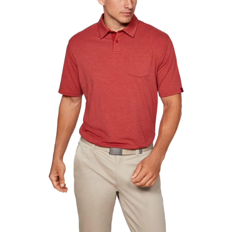 Under Armour Cc Scramble Polo Rojo Camisa estilo polo