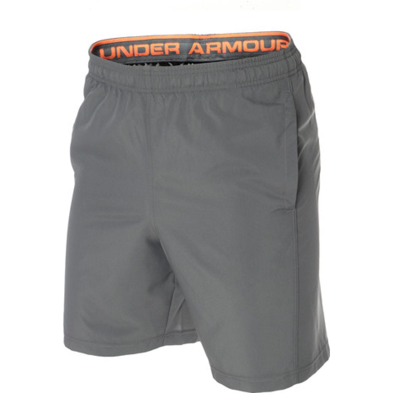 Under Armour Woven Graphic Wordmark Short Plomo Shorts deportivos