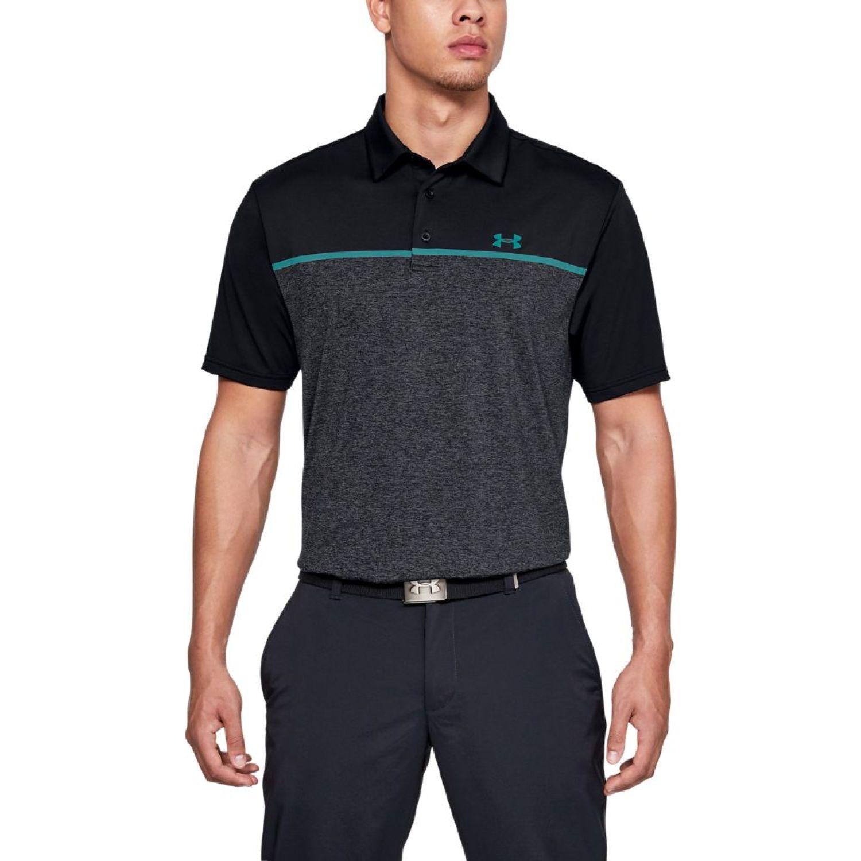 Under Armour Playoff Polo 2.0 Negro Camisas de polo