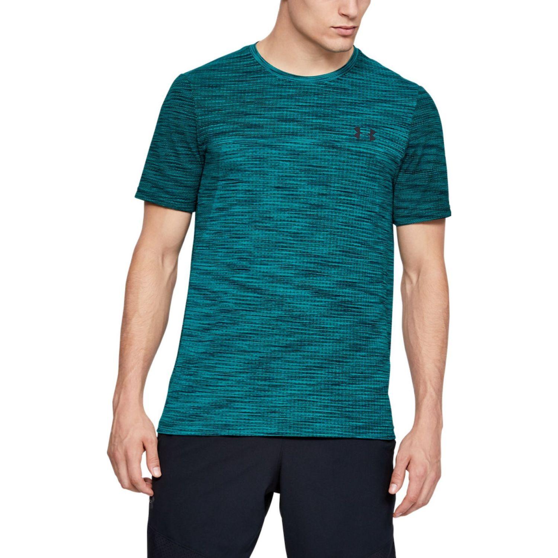 Under Armour vanish seamless ss nov 1 Verde Camisetas y Polos Deportivos