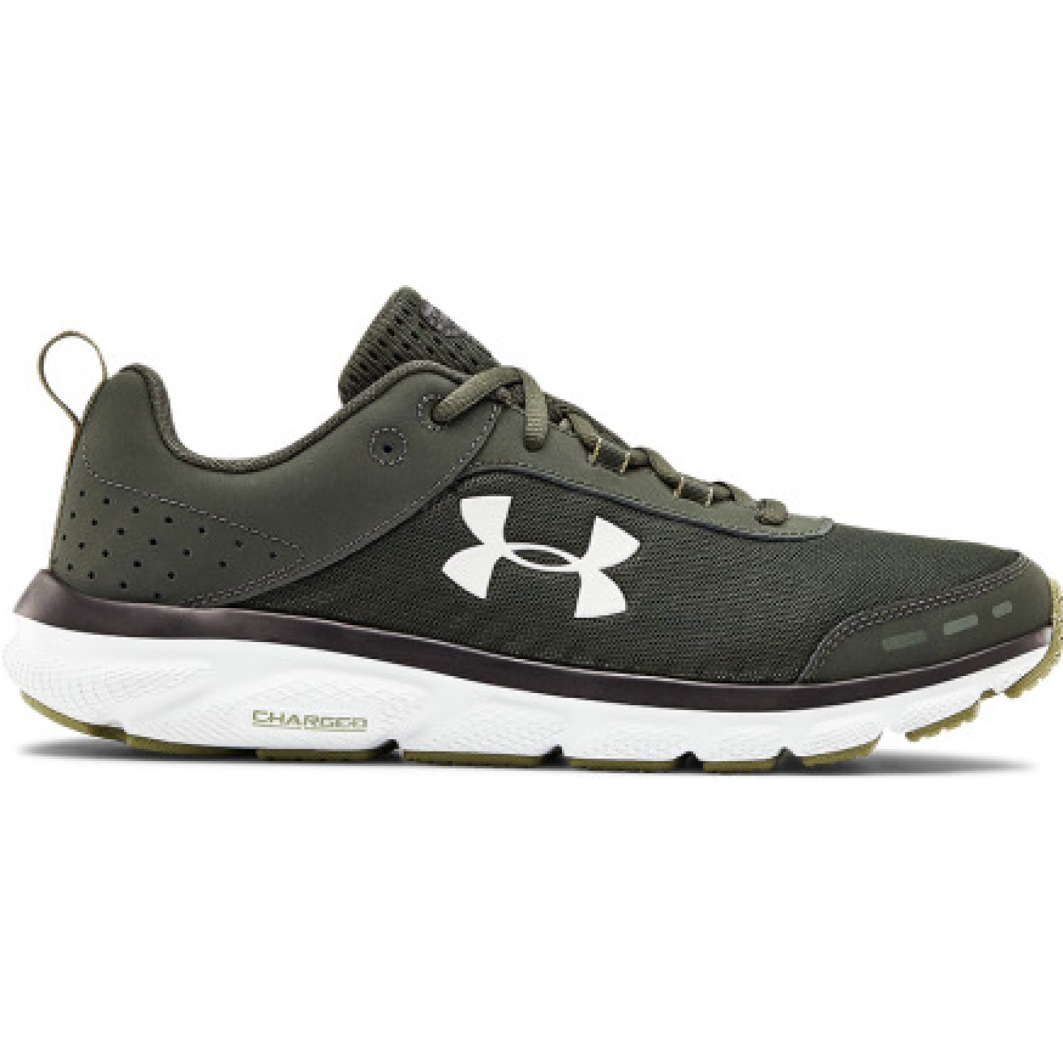 Under Armour UA Charged Assert 8 Negro Trail Running