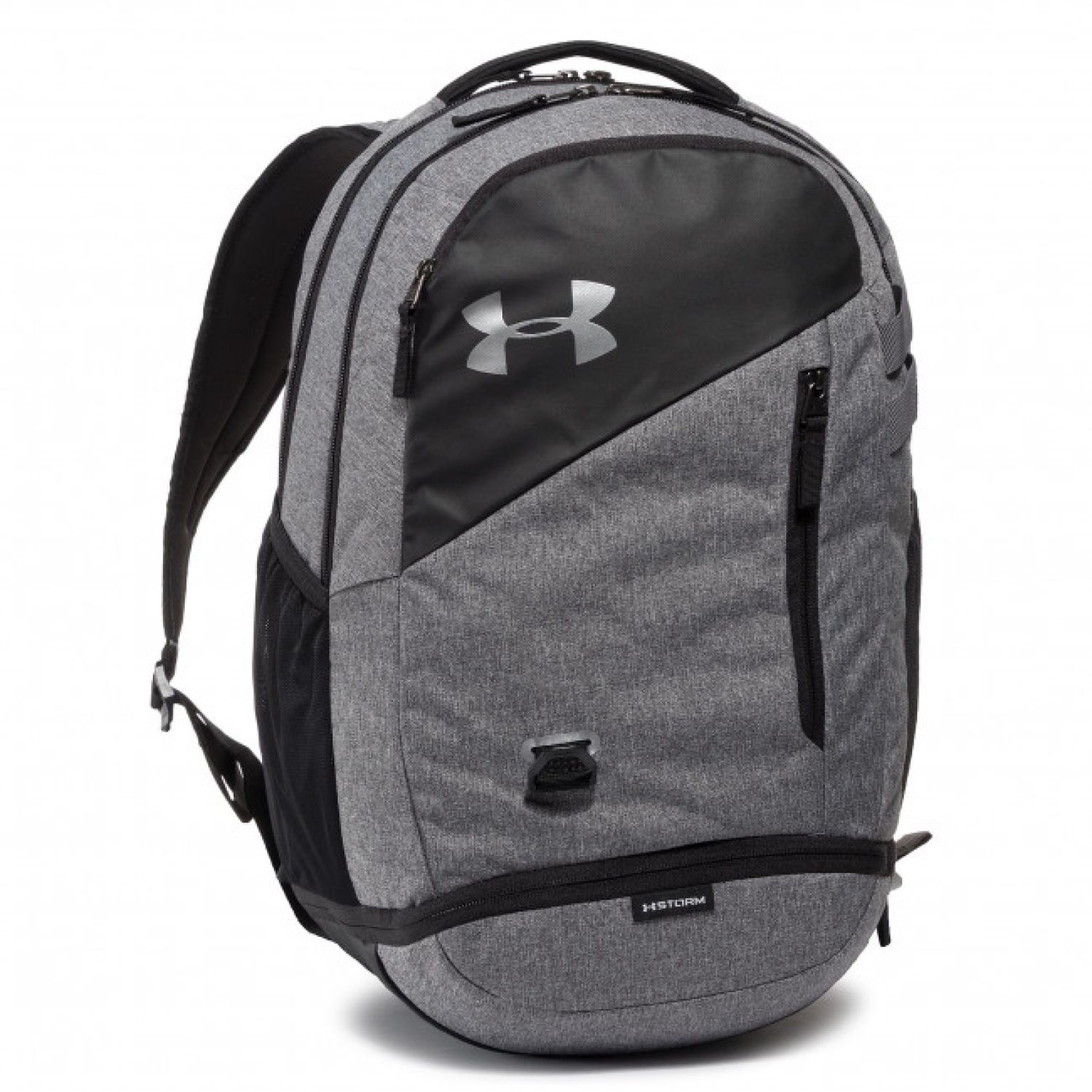Under Armour ua hustle 4.0 Gris Mochilas Multipropósitos
