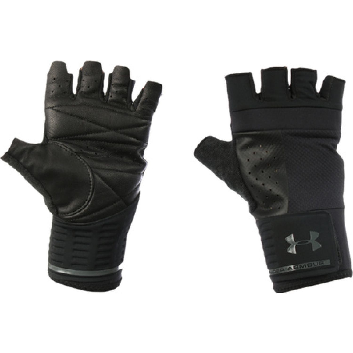 Under Armour Men'S Weightlifting Glove-Blk Negro Guantes