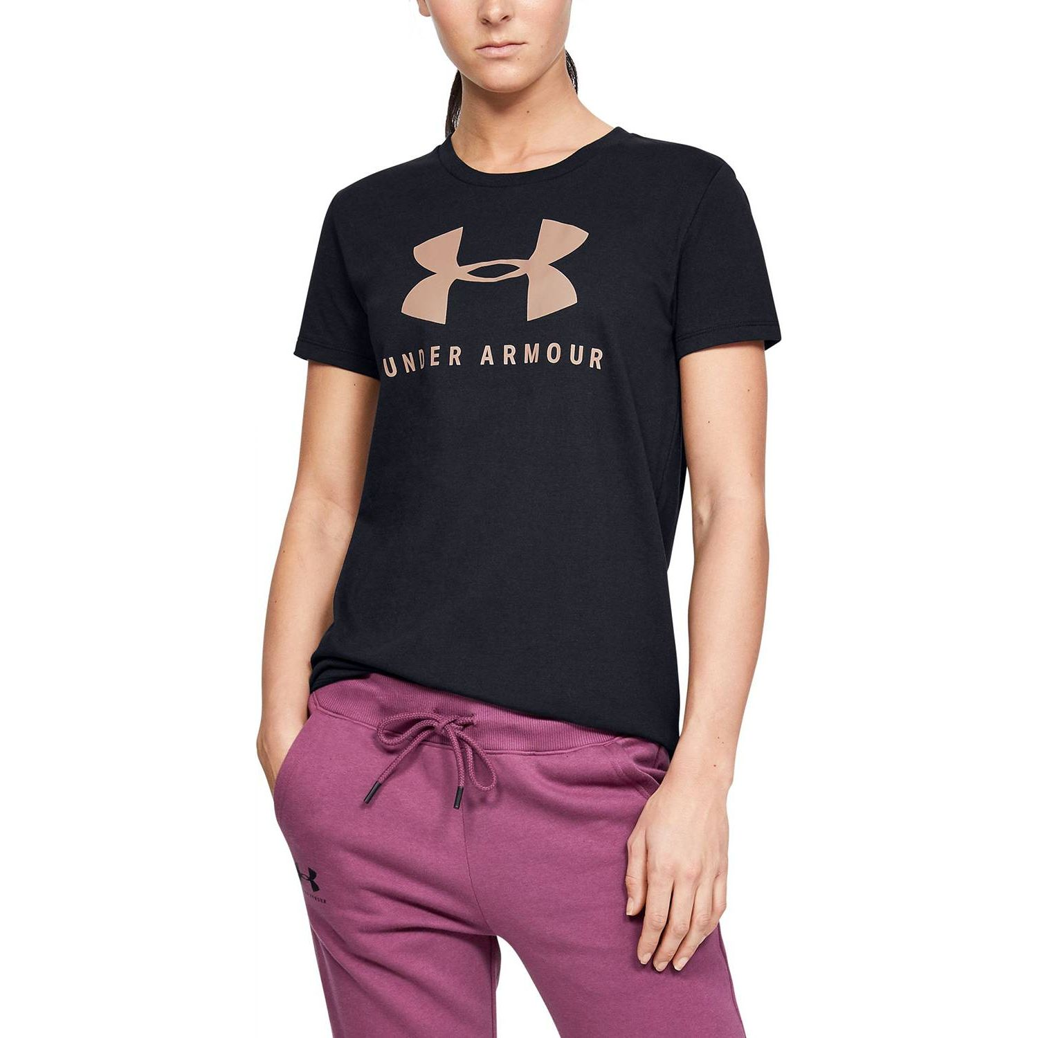 Under Armour Graphic Sportstyle Classic Crew Negro Polos