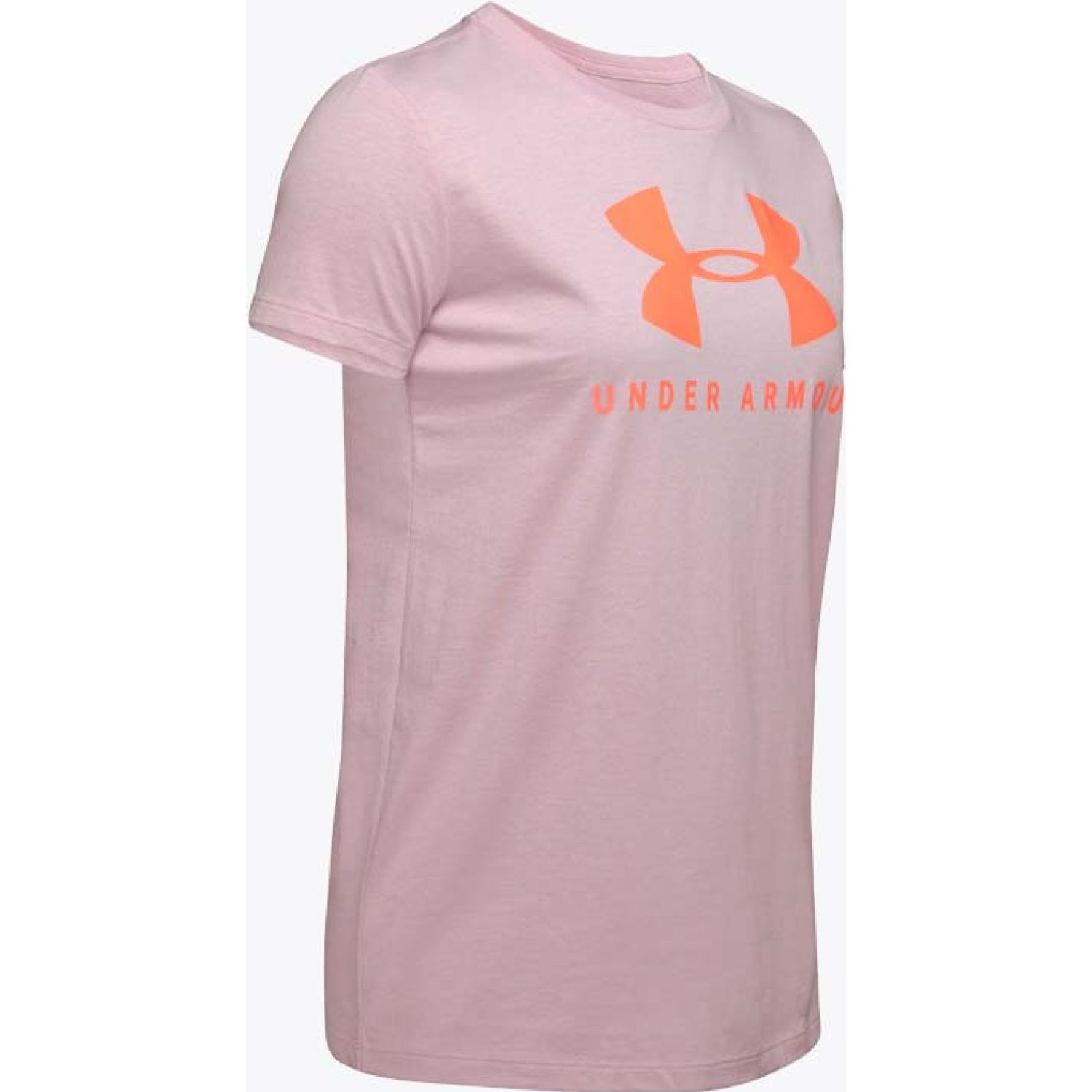 Under Armour Graphic Sportstyle Classic Crew Rosado Polos