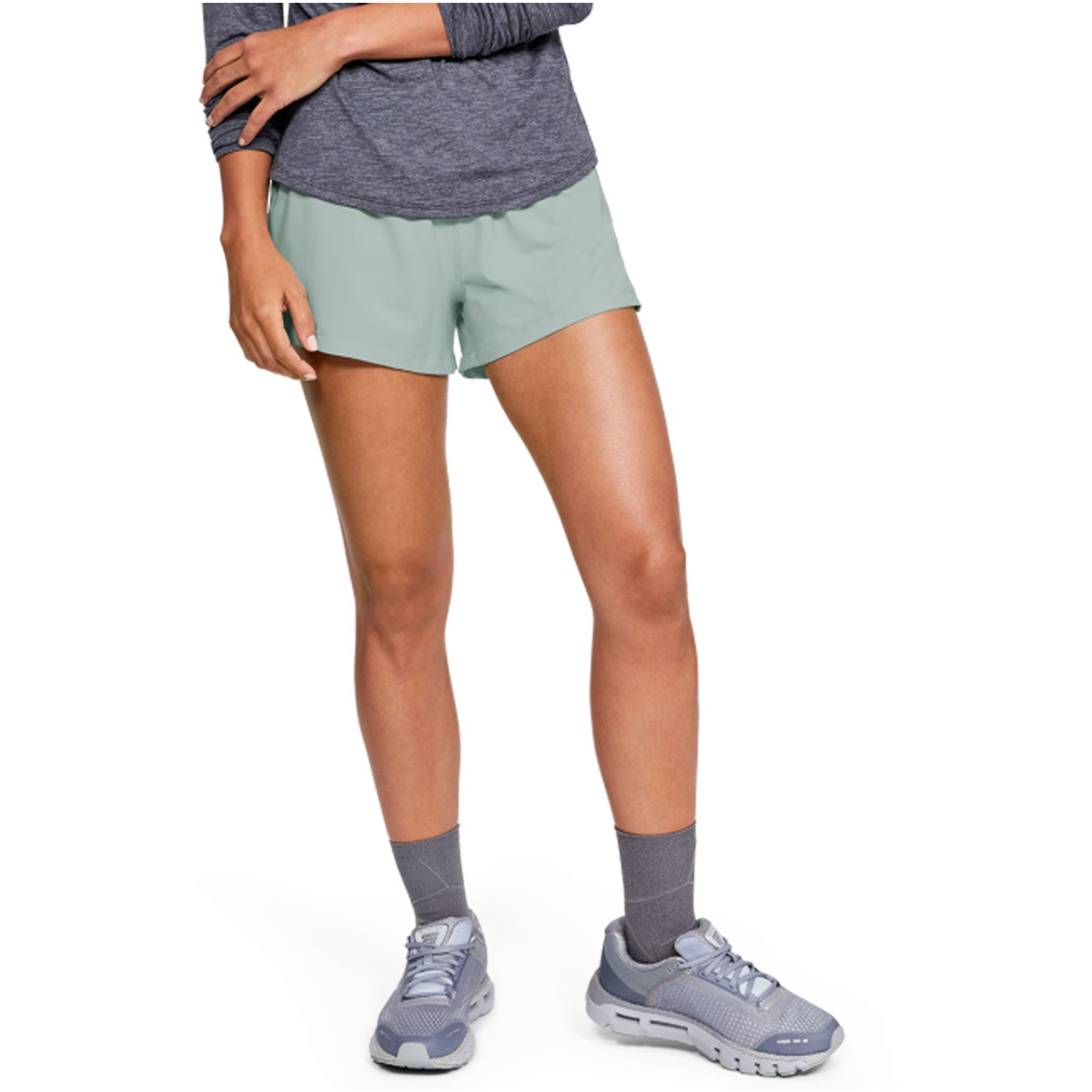 Under Armour Ua Launch Sw ''Go All Day'' Short Verde Shorts deportivos