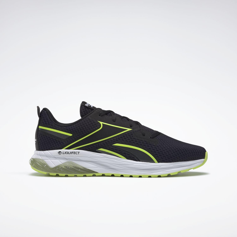 Reebok LIQUIFECT 180 SPRING Negro / amarillo Running en pista