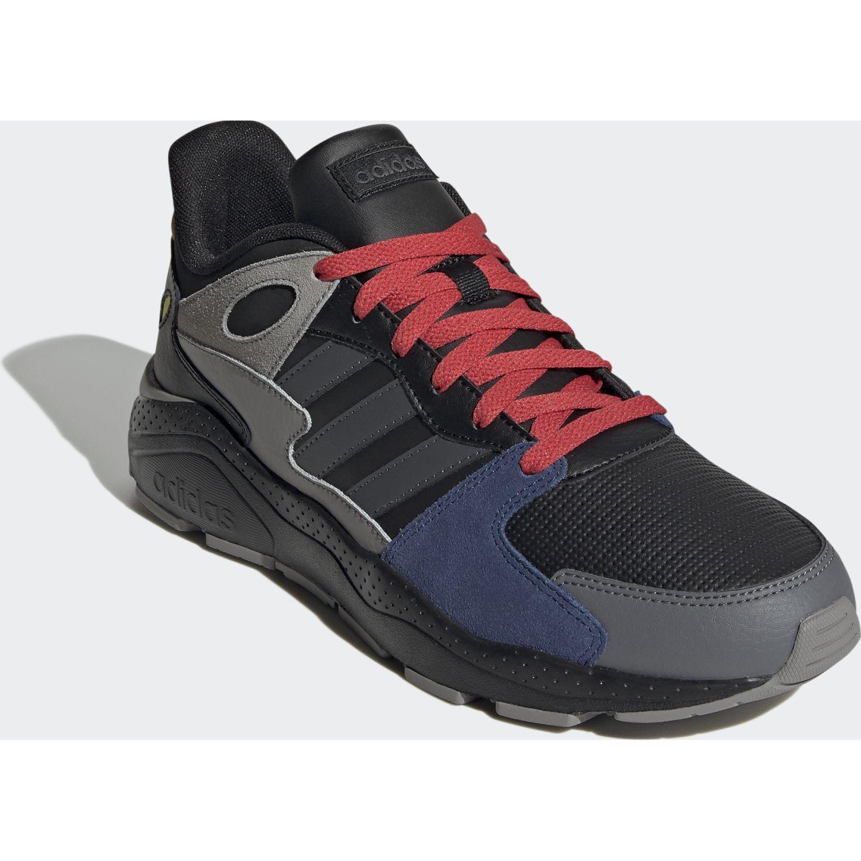Adidas CRAZYCHAOS Negro / plomo Running en pista