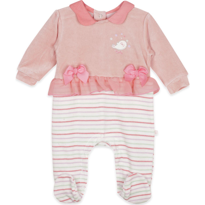 PILLIN Osito Plush Bebé Niña Rosado Comandos