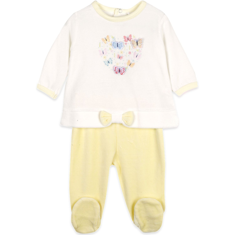 PILLIN Conjunto Plush Bebe Niña Vainilla Juegos de ajuar para bebé