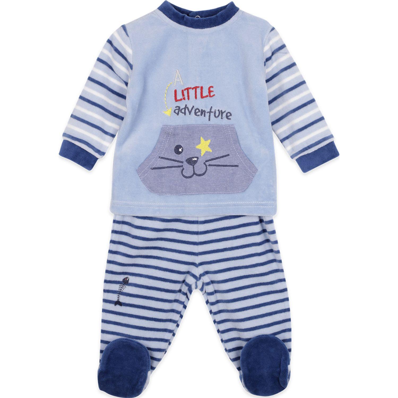 PILLIN Osito Plush Bebé Niño Celeste Peleles