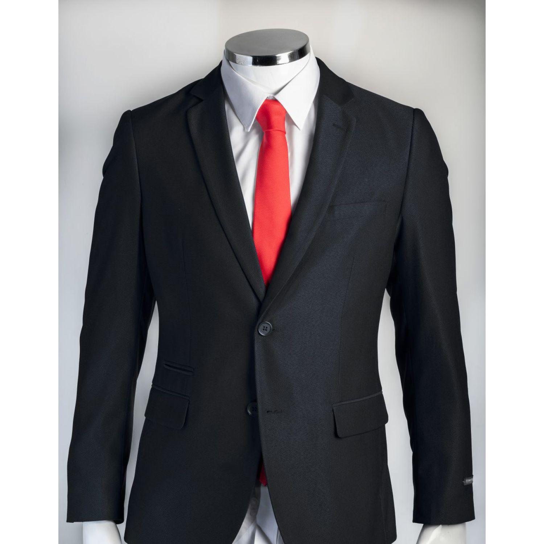 Donatelli Pack Terno + Camisa + Corbata Negro / blanco Trajes