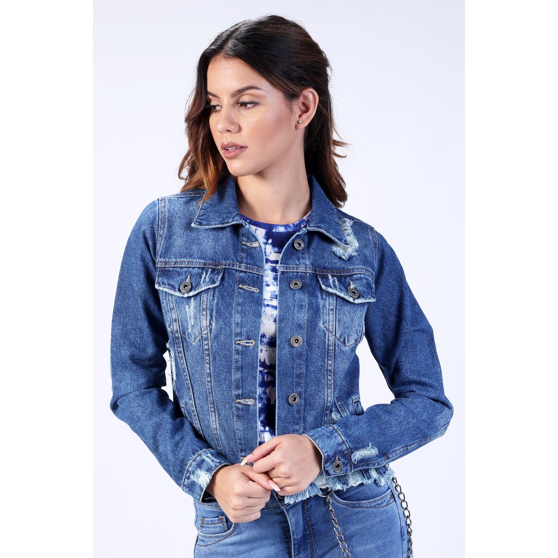 FORDAN JEANS Casaca Jeans 0770 STONE BLUE Parkas