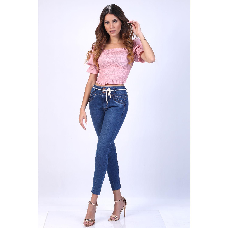 FORDAN JEANS Pantalon Jeans 0820 Celeste Casual