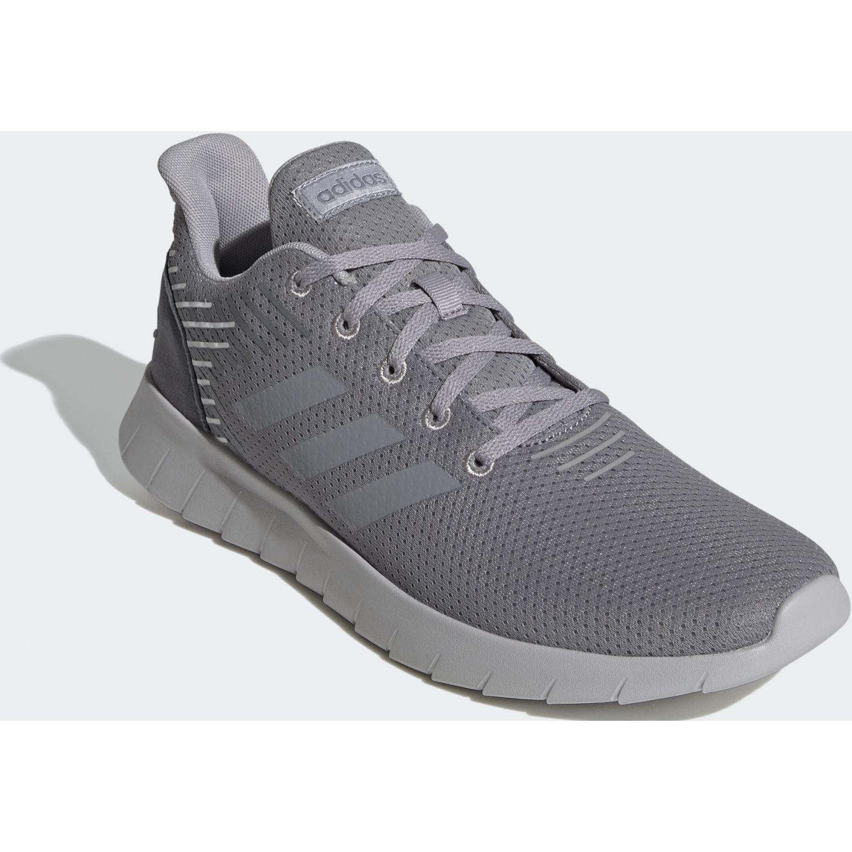 Adidas asweerun Gris Running en pista