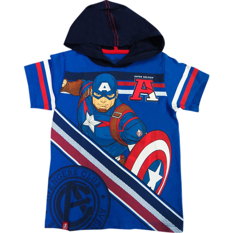 Avengers Polo Moda Mc Azul Polos