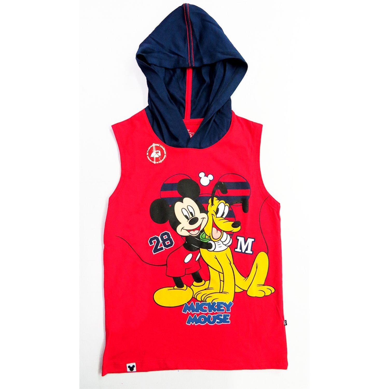 Mickey POLO MANGA CERO Rojo Hoodies y Sweaters Fashion