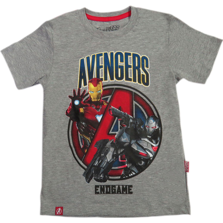 Avengers POLO BASICO MC Gris Polos