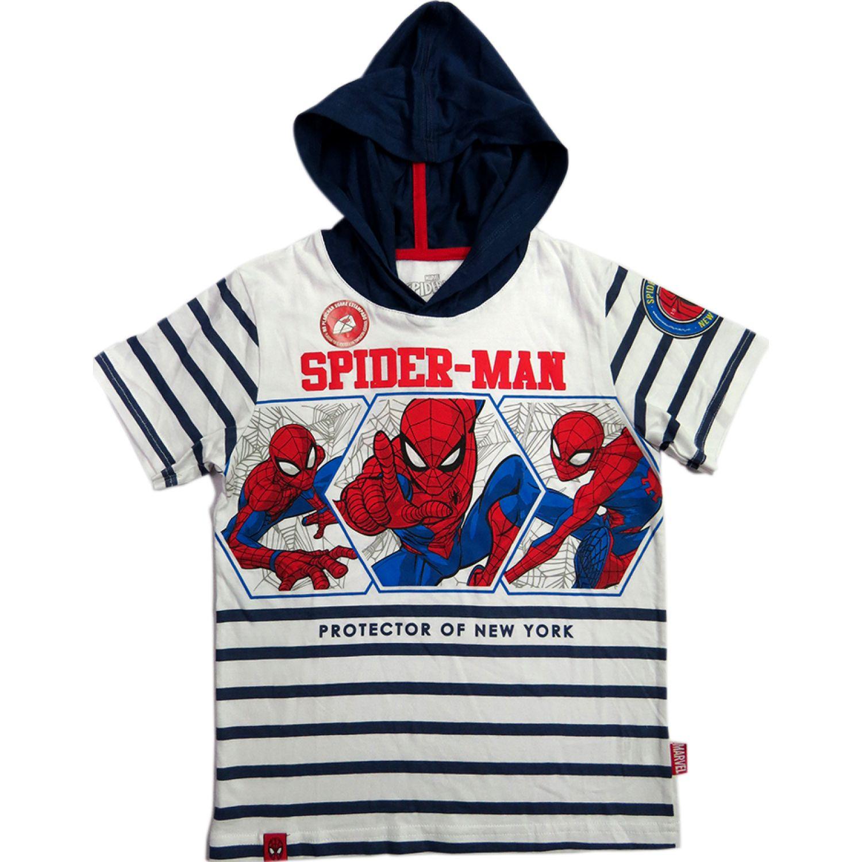 SPIDER-MAN Polo Moda Mc Blanco Hoodies y sudaderas de moda