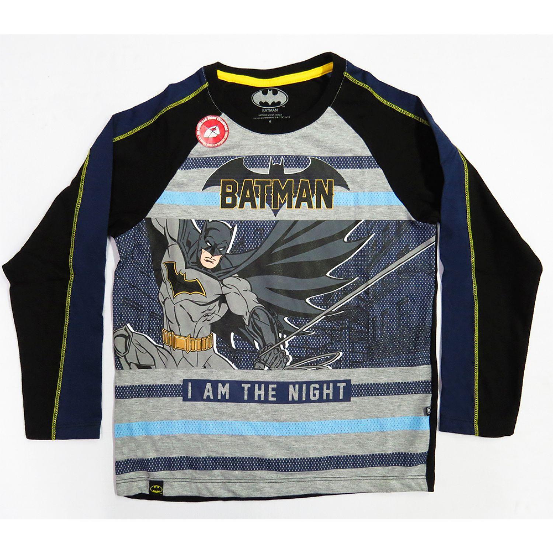 BATMAN Polo Moda Mc Gris / negro Polos