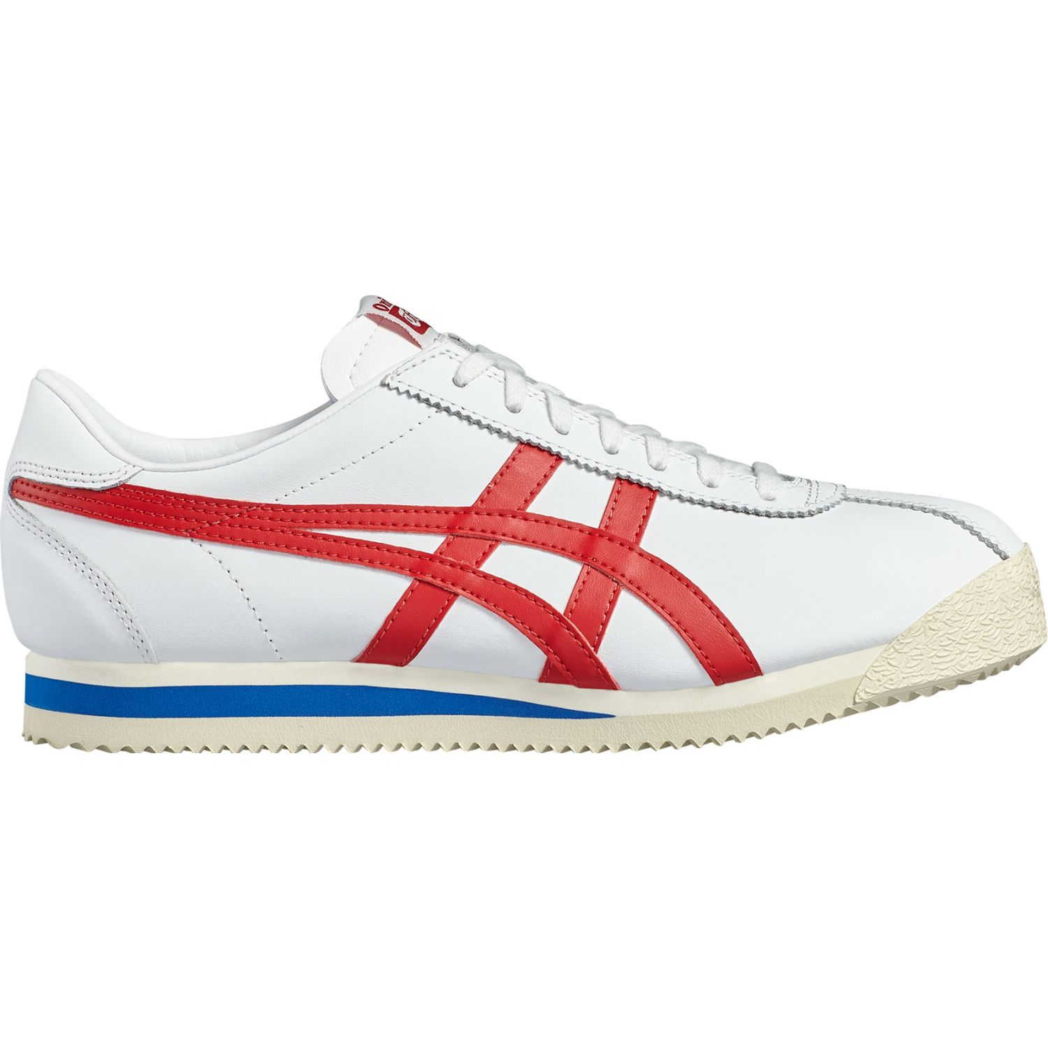 Asics TIGER CORSAIR Blanco / rojo Walking