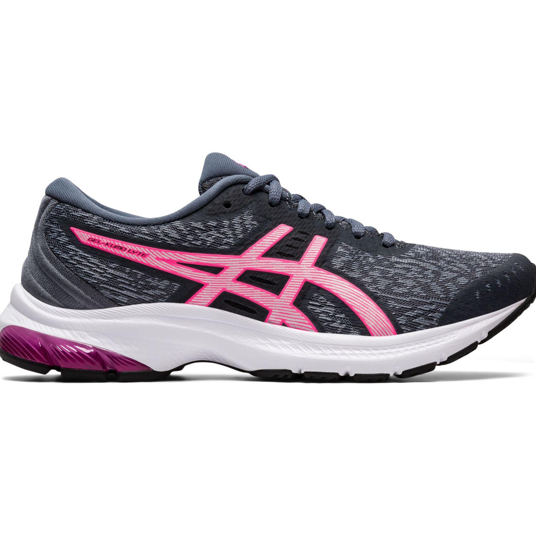Asics Gel-Kumo Lyte Gris / rosado Correr por carretera