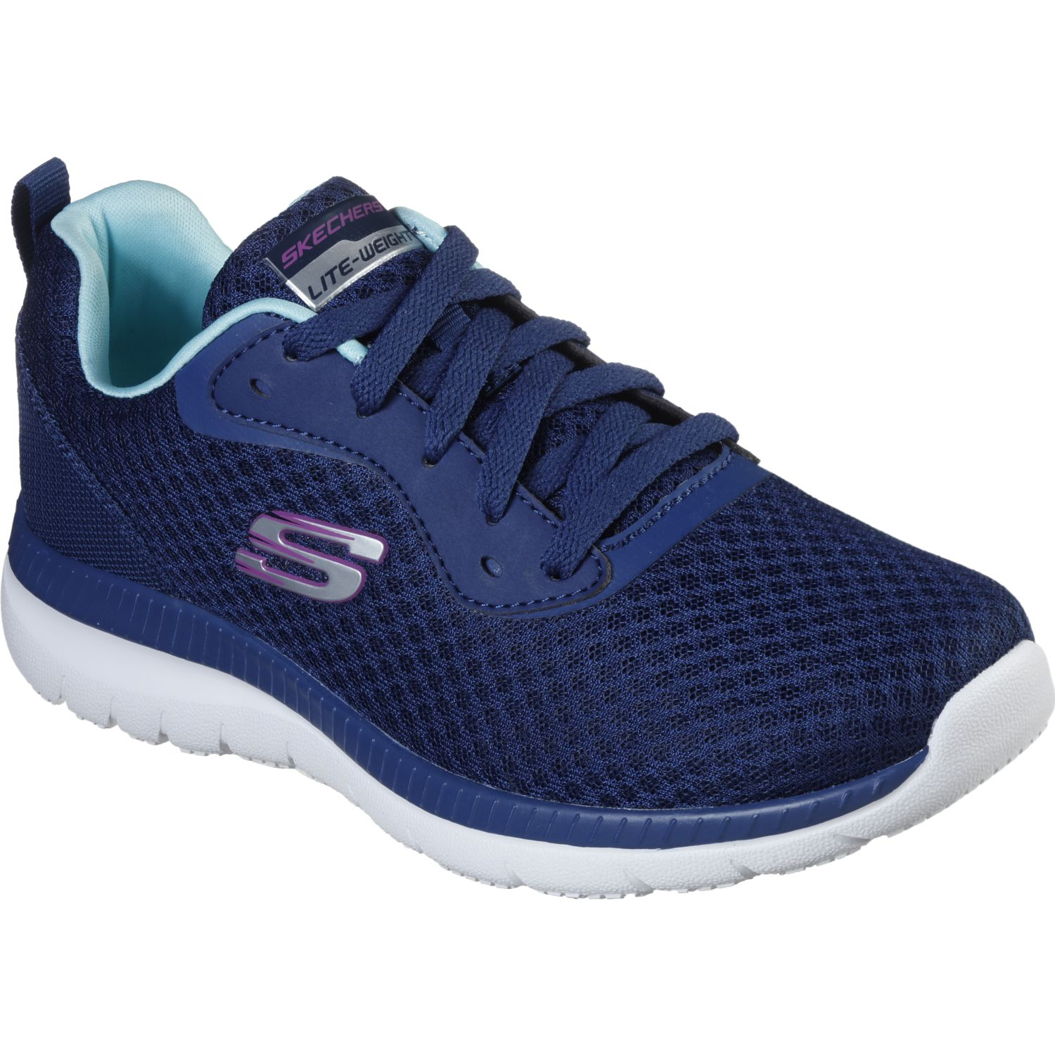 Skechers bountiful Navy Running en pista