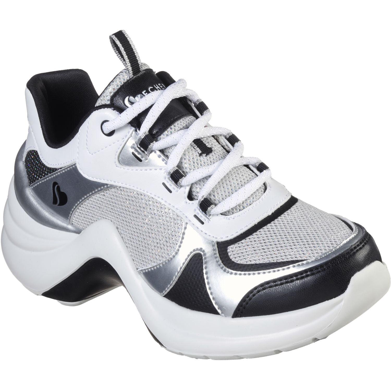 Skechers solei st. Blanco / negro Walking