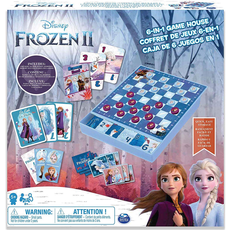 Frozen Caja De Juego 6 En 1 Frozen Varios Juegos de mesa