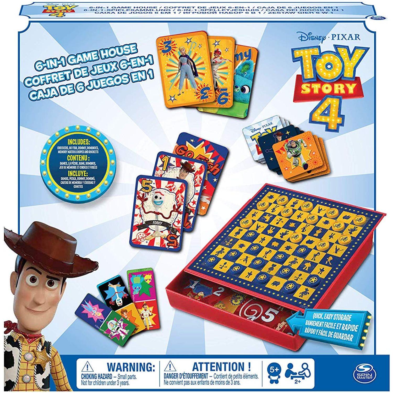 Toy Story Caja De Juego 6 En 1 Toy Story Varios Juegos de mesa