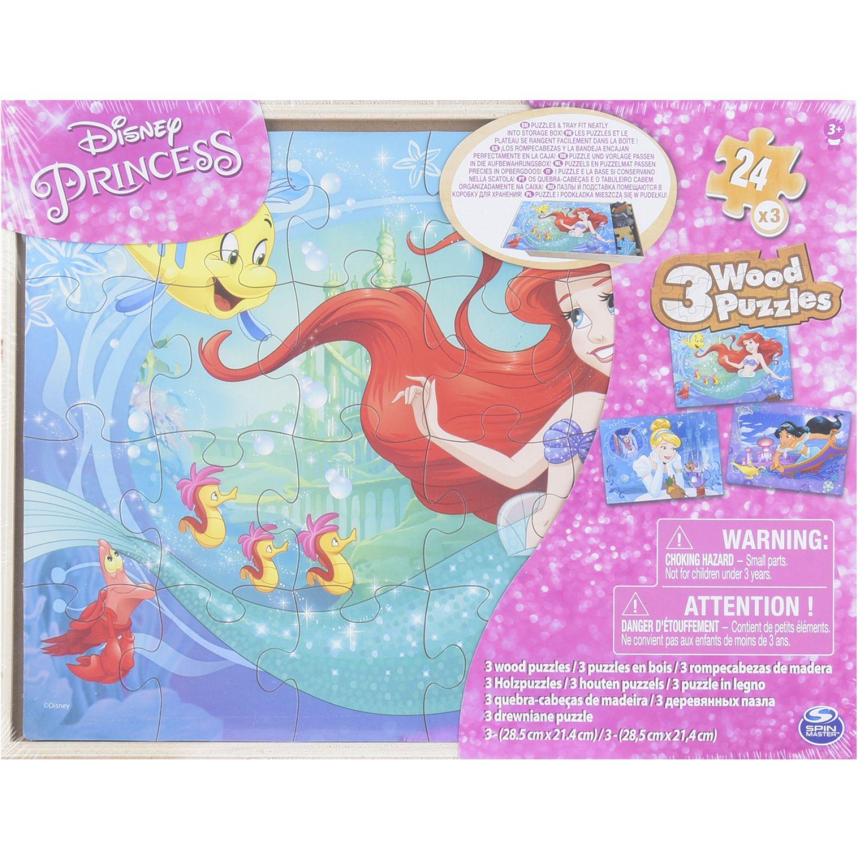 Princesas Rompecabezas De Madera Packx 3 Varios Rompecabezas 3-D