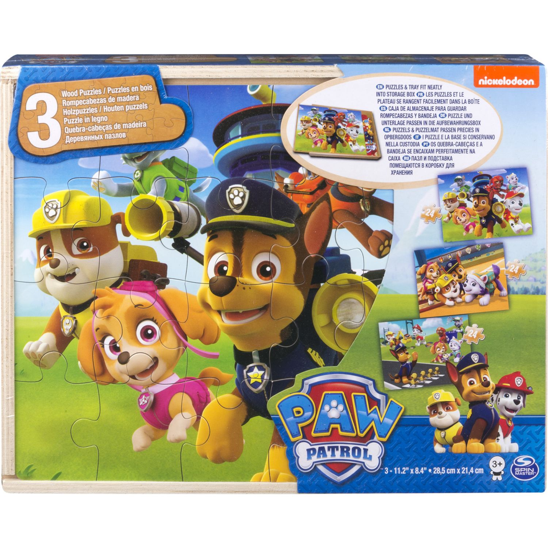 Paw Patrol PACK X 3 ROMPECABEZAS PAW PATROL Varios 3-D Puzzles