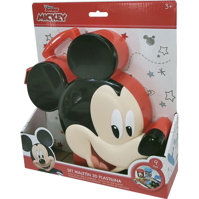 Mickey Mickey 3d Incluye Juegos De Masas Varios Modelado y escultura