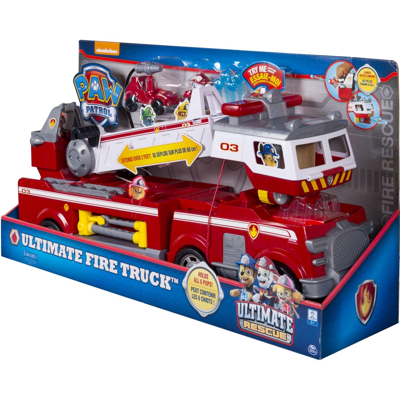 Paw Patrol Ultimate Fire Truck Playset Varios Vehículos