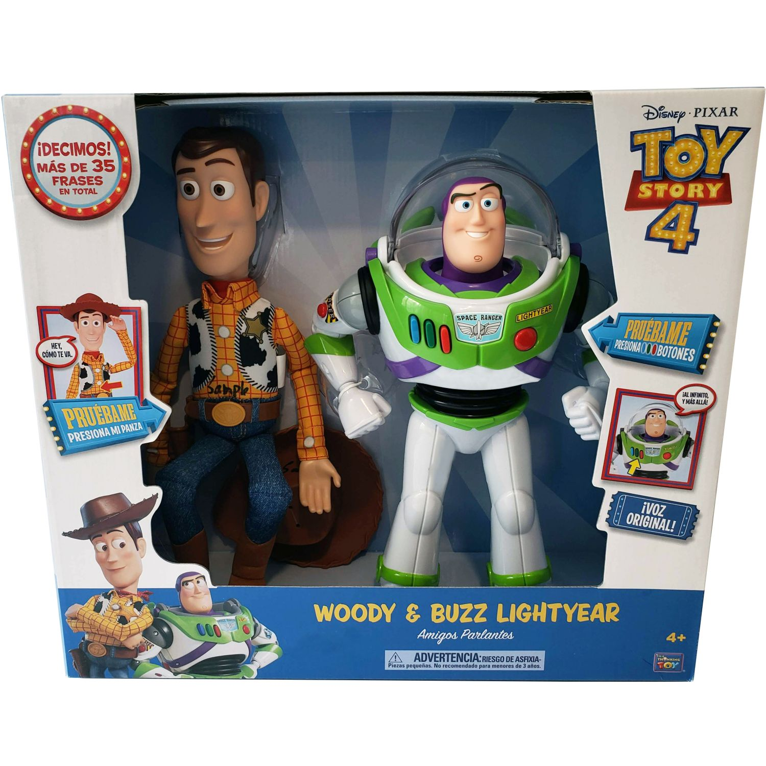Toy Story Toy Story Buzz & Woody Talking Action Varios Figuras de acción