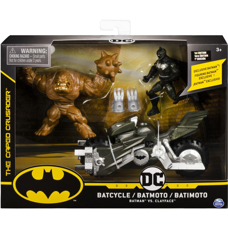 BATMAN Set Incluye Vehiculo Y Dos Figuras10cm Varios Figuras de acción