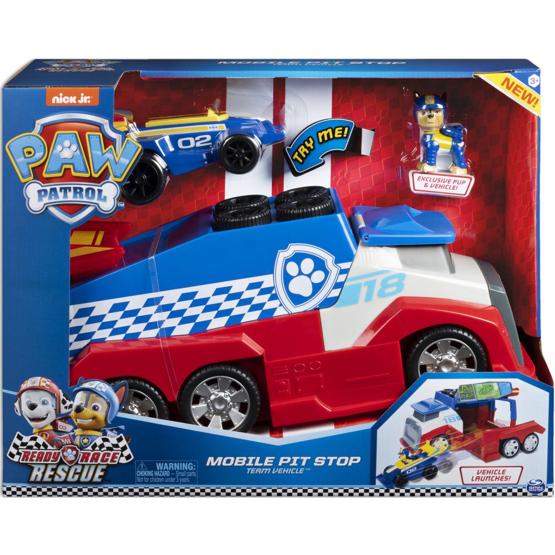 Paw Patrol Vehiculo R,R,R Mobile Pitstop Team Varios Vehículos